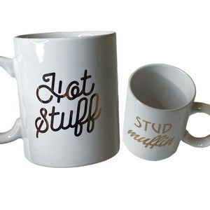Home Essentials Hot Stuff & Stud Muffin Mug Set